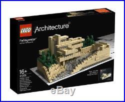 LEGO Architecture 21005 Fallingwater Frank Lloyd Wright BNIB, Never Opened