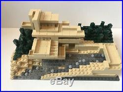 LEGO Architecture 21005 Fallingwater, Instruction Manual, Box Frank Lloyd Wright