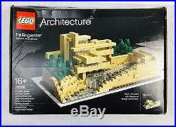 LEGO Architecture 21005 Frank Lloyd Wright Fallingwater 811 Pcs NEWREAD