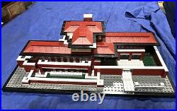 LEGO Architecture 21010 Robie House by Frank Lloyd Wright 99% Complete No Box