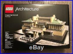 LEGO Architecture 21017 Imperial Hotel Frank Lloyd Wright Retired NISB