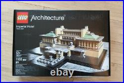 LEGO Architecture 21017 WEAR ON BOX The Imperial Hotel Frank Lloyd Wright New