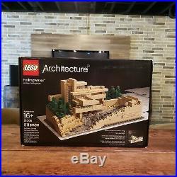 LEGO Architecture Complete Fallingwater 21005 Frank Lloyd Wright