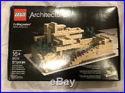 LEGO Architecture FALLINGWATER 21005 Frank Lloyd Wright RARE Brand New Sealed
