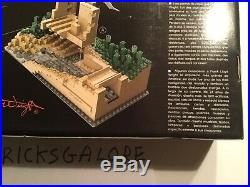 LEGO Architecture Fallingwater 21005 Frank Lloyd Wright Brand New And Sealed
