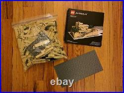 LEGO Architecture Fallingwater 21005 Frank Lloyd Wright Complete Box & Manual