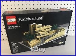 LEGO Architecture Fallingwater 21005 Frank Lloyd Wright Complete Sealed NIB