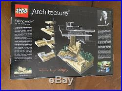 LEGO Architecture Fallingwater (21005) Frank Lloyd Wright Discontinued