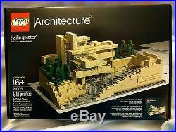 LEGO Architecture Fallingwater (21005) Frank Lloyd Wright FREE SHIPPING