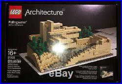 LEGO Architecture Fallingwater 21005 Frank Lloyd Wright PA Landmark Retired NEW