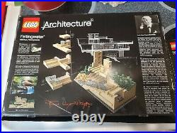 LEGO Architecture Fallingwater (21005) Open Complete