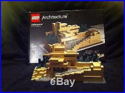 LEGO Architecture Fallingwater Frank Lloyd Wright