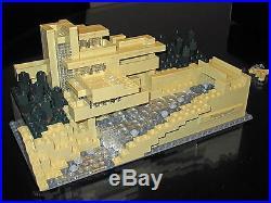 LEGO Architecture Fallingwater Frank Lloyd Wright 21005 + White House 21006 USED