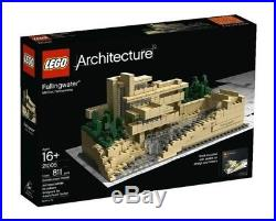 lego architecture fallingwater retired frank lloyd wright 21005 in
