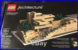LEGO Architecture Frank Lloyd Wright Fallingwater Falling Water #21005 Disc. EC