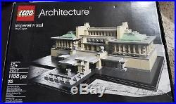LEGO Architecture Frank Lloyd Wright Imperial Hotel 21017 RETIRED