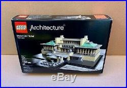 LEGO Architecture Imperial Hotel 21017 Frank Lloyd Wright Japan Landmark Retired