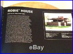 LEGO Architecture Robie House (21010) Frank Lloyd Wright. All pieces & book