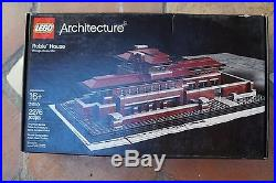 LEGO Architecture Robie House (21010) Frank Lloyd Wright Chicago New In Box