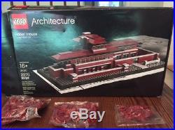 LEGO Architecture Robie House (21010) Frank Lloyd Wright + Lego = AWESOME