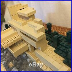 LEGO Fallingwater Architecture Series 1st Ed 21005 Frank Lloyd Wright COMPLETE