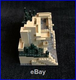 LEGO Fallingwater Frank Lloyd Wright