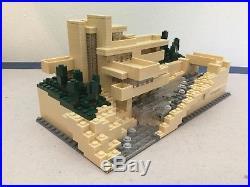 LEGO Frank Lloyd Wright Fallingwater 21005 US Bidders Only