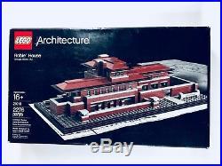 LEGO Frank Lloyd Wright's Frederick C. Robie House 21010 (2011) Retired NISB