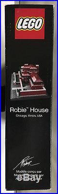 LEGO Frank Lloyd Wright's Frederick C. Robie House #21010 (2011) Retired NISB