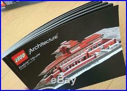 LEGO NEW Set 21010 Robie House Architecture Frank Lloyd Wright F/S Japan