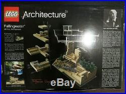 Lego 21005 Architecture Falling Water Frank Lloyd Wright Retired NISB