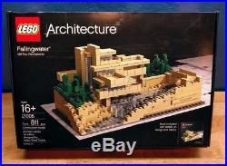 Lego 21005 Architecture Fallingwater Frank Lloyd Wright Free Overnight