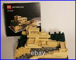 Lego 21005 Fallingwater Architecture Frank Lloyd Wright withinstructions Complete