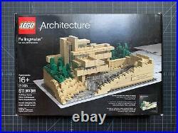 Lego 21005 Fallingwater Frank Lloyd Wright 100% Complete Manual Box Architecture