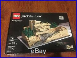 Lego 21005 NIB Architecture Fallingwater Frank Lloyd Wright Collection 811 pcs