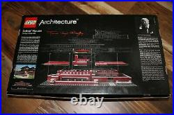 Lego 21010 Architecture Robie House Frank Lloyd Wright 100% COMPLETE
