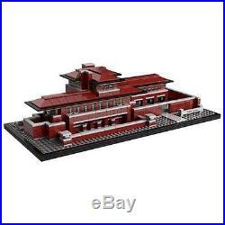 Lego 21010 Architecture Robie House Frank Lloyd Wright Basically New