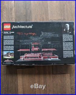 Lego 21010 Architecture Robie House Frank Lloyd Wright. Box Damaged