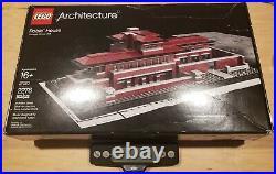 Lego 21010 Architecture Robie House, Frank Lloyd Wright. Box Opened, Bags Sealed