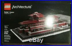 Lego 21010 Architecture Robie House Frank Lloyd Wright Retired NISB