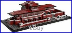 Lego 21010 Architecture Robie House Frank Lloyd Wright withinstructions no box