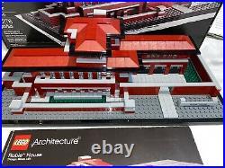 Lego 21010 Robie House Frank Lloyd Wright Box Instructions Please READ DETAILS