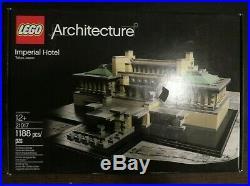 Lego 21017 Architecture Imperial Hotel Frank Lloyd Wright Retired NISB