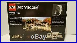 Lego 21017 Architecture Imperial Hotel New and Sealed Frank Lloyd Wright
