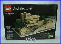 Lego Architecture #21005 FALLINGWATER (Frank Lloyd Wright) 811 pc (2009) NISB