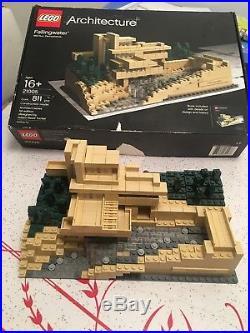 Lego Architecture 21005 Fallingwater Frank Lloyd Wright Modern House Art Deco