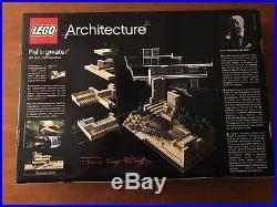 Lego Architecture 21005 Frank Lloyd Wright Fallingwater Set NISB NEW NICE