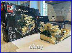 Lego Architecture Fallingwater 21005 Frank Lloyd Wright Complete with Manual Box