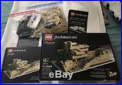 Lego Architecture Fallingwater 21005 Frank Lloyd Wright Free Ship