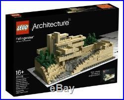 Lego Architecture Fallingwater 21005 Frank Lloyd Wright NEW NEUF